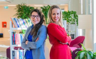 Minna-Maria Salonen ja Susanna Grundström